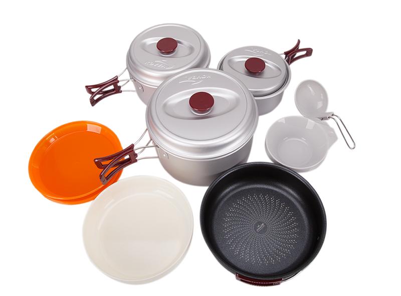 Фото - Набор посуды KSK-WY56 от Kovea Набор посуды KSK-WY56