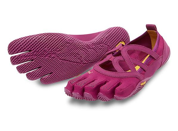 Мокасины FIVEFINGERS Alitza Loop WVibram FiveFingers<br><br><br> Красивая модель Alitza Loop идеально подходит тем, кто ценит оптимальное сцепление во время босоногой ходьбы. Эта минималистичная обувь отлично подходит для занятий фитнесом, балетом и танцами. Модель Alitza Loop очень лёгкая, дышащая и не стесня...<br><br>Цвет: Фиолетовый<br>Размер: 39