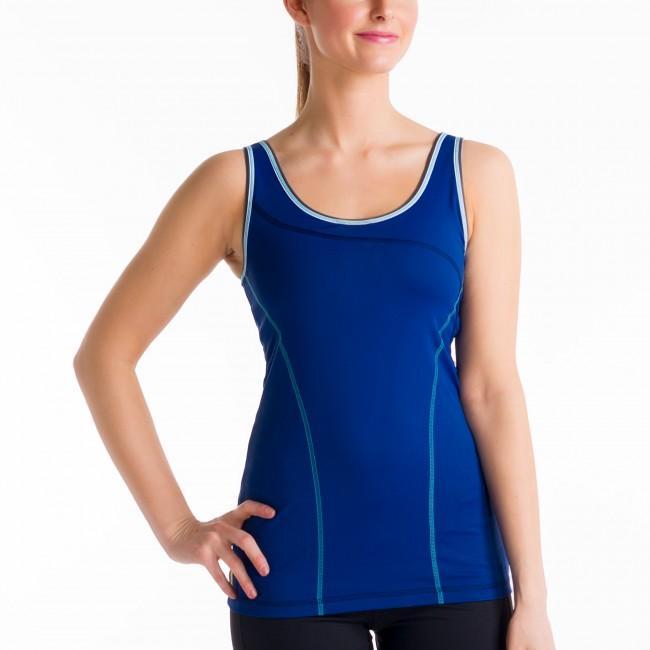 Топ LSW0933 SILHOUETTE UP TANK TOPФутболки, поло<br><br> Silhouette Up Tank Top LSW0933 – простая и функциональная футболка для женщин от спортивного бренда Lole. Модель имеет широкий вырез на спине, придающий ей открытость и сексуальность, удобный анатомический крой, встроенный бюстгальтер. Справа преду...<br><br>Цвет: Синий<br>Размер: XL