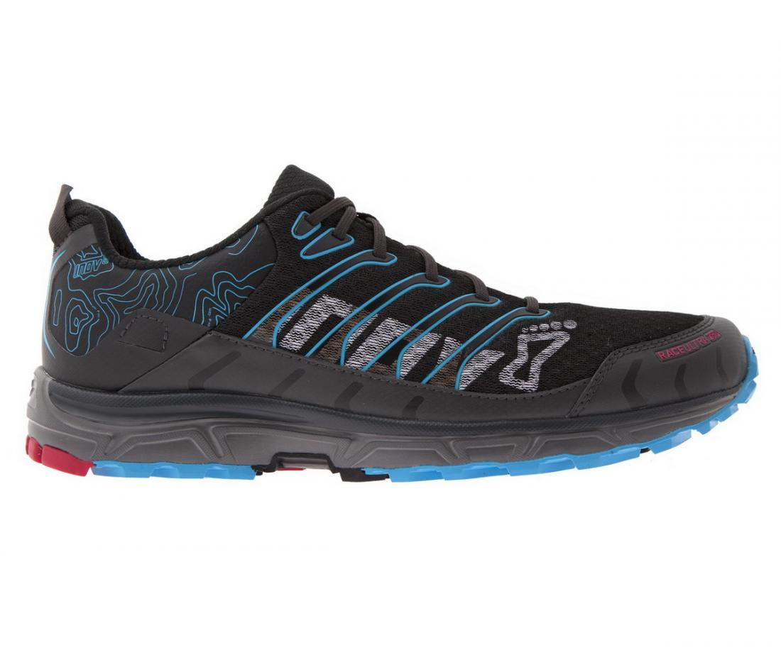 Inov-8 Кроссовки Race Ultra 290 муж. (7, Black/Blue/Lime, ,) inov 8 футболка at c tri blend ss strip w 6 black pink