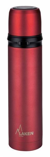 180010R ТермосПосуда<br><br> Laken 180010R – идеальный термос для путешествий и командировок емкостью 1 л. Прочный стальной корпус выдерживает любые испытания, легкая и компактная конструкция удобна в походных условиях. Модель отлично справляется с функцией поддержания темпера...<br><br>Цвет: Красный<br>Размер: 1 л