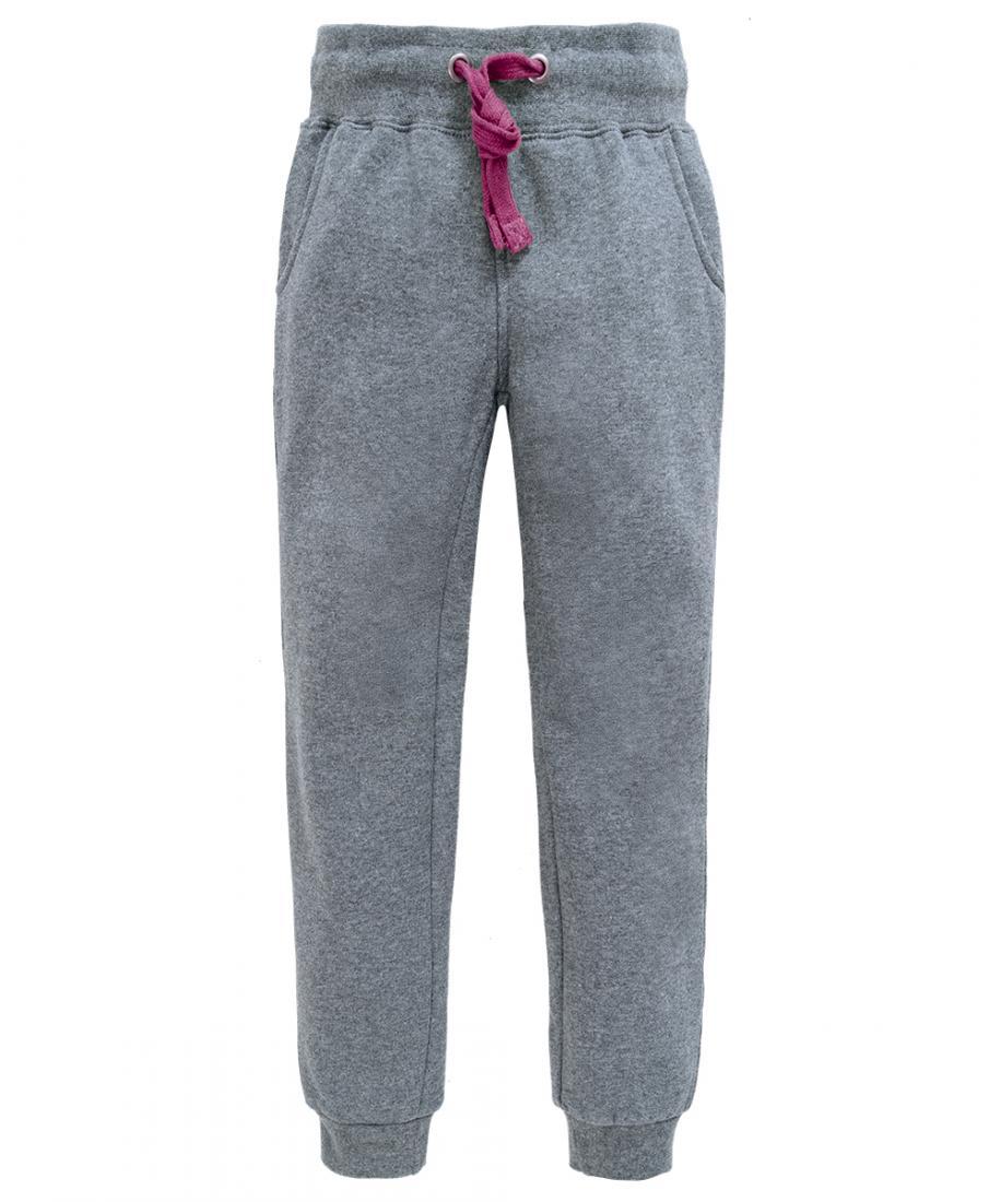 Брюки Champion Baby ДетскиеБрюки, штаны<br>Удобные и практичные брюки для занятий спортом. Изделие выполнено из мягкого трикотажа с начесом. На брюках продумана затяжка на талии.<br><br>материал: 100% Cotton, 300 g/sqm<br><br><br>Цвет: Темно-серый<br>Размер: 98