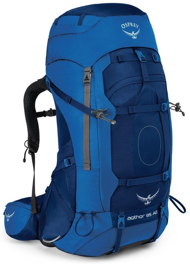 Osprey Рюкзак Aether AG 85 (L, Neptune Blue, , ,) osprey рюкзак koby 20 hero blue