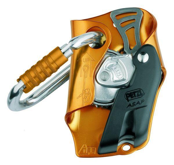 Зажим ASAPЗажимы<br>Мобильное улавливающее устройство для работы на верёвке. <br><br>Устанавливается на страховочной веревке. <br><br><br>Устройство срабатывает при падении, проскальзывании и в случае неконтролируемого спуска. Срабатывает даже при хватании за устройс...<br><br>Цвет: Оранжевый<br>Размер: None