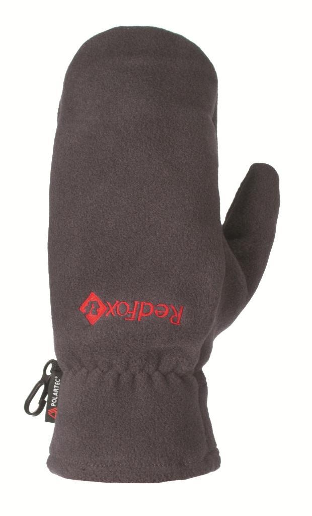 Рукавицы PolartecВарежки<br><br> Комфортные рукавицы из материала Polartec® 200<br><br><br> Основные характеристики<br><br><br>удобная посадка по ладони<br>карабин для креп...<br><br>Цвет: Серый<br>Размер: XL