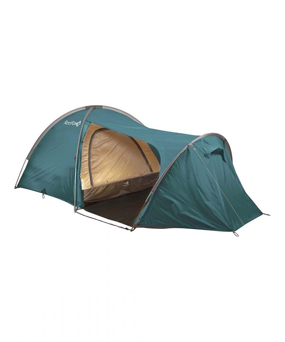 Палатка Challenger 3 ComboПалатки<br><br> Большая комфортная палатка для кемпинга. Палатка обладает простым в установке и исключительно прочным каркасом. Основная особенность модели: внутренняя палатка и тент устанавливаются одновременно. В модели продуманы два входа и два тамбура, один из...<br><br>Цвет: Зеленый<br>Размер: None