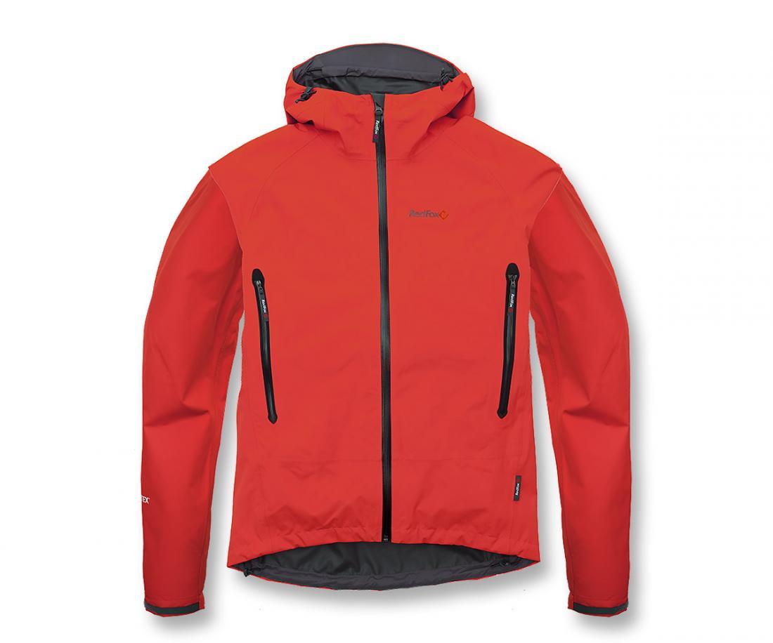 Куртка ветрозащитная Rain Fox Light GTXКуртки<br><br> Легкая штормовая куртка с капюшоном из серии Trekking идеальна в ветреную и дождливую погоду. Гарантию непромокаемости обеспечивает матер...<br><br>Цвет: Красный<br>Размер: 60
