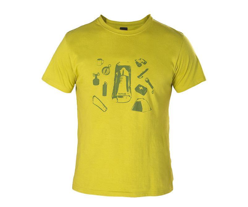 Футболка Discovery МужскаяФутболки, поло<br>Городская мужская футболка из 100% Хлопка.<br> <br> Основное назначение: Повседневное городскоеиспользование<br> Посадка: Regular Fit<br> Материал...<br><br>Цвет: Салатовый<br>Размер: 54