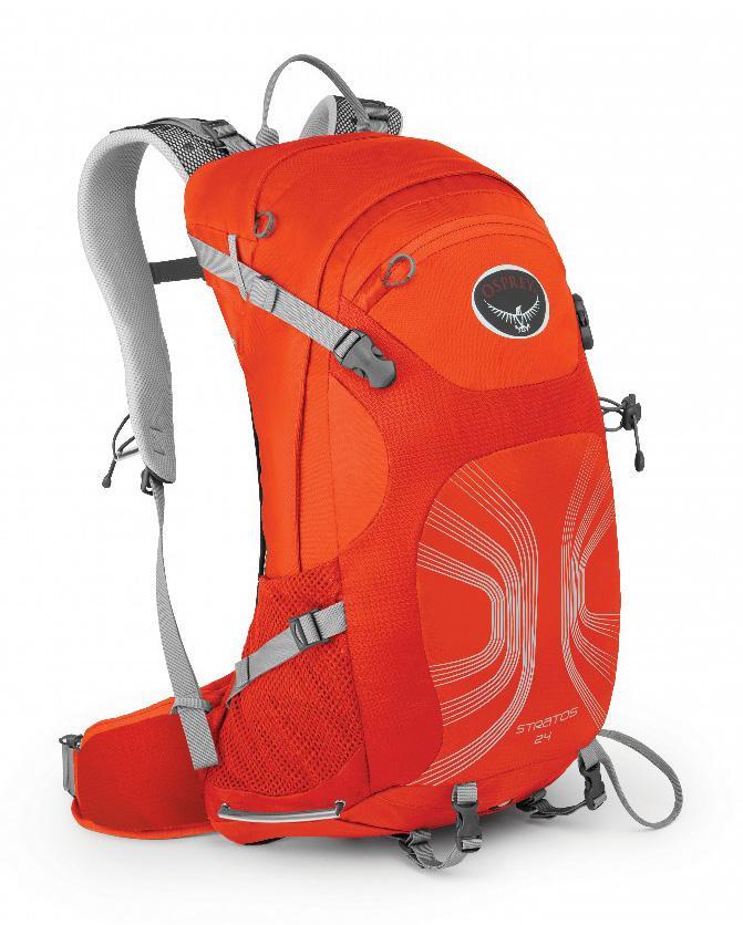 Рюкзак Stratos 24Рюкзаки<br><br><br>Цвет: Оранжевый<br>Размер: 24 л
