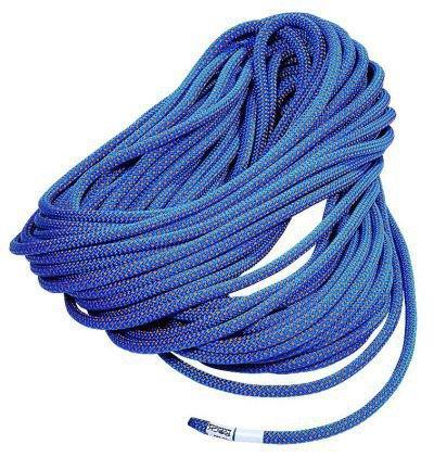 Веревка DUO 7.8 standardВеревки, стропы, репшнуры<br>Динамическая веревка, сертифицированная и как одинарная, и как двойная. Очень легкая и прочная веревка маленького диаметра. Разработана для повседневного использования на искусственных стенах, спортивного скалолазания и экстремальных восхождений в гора...<br><br>Цвет: Синий<br>Размер: 200 м