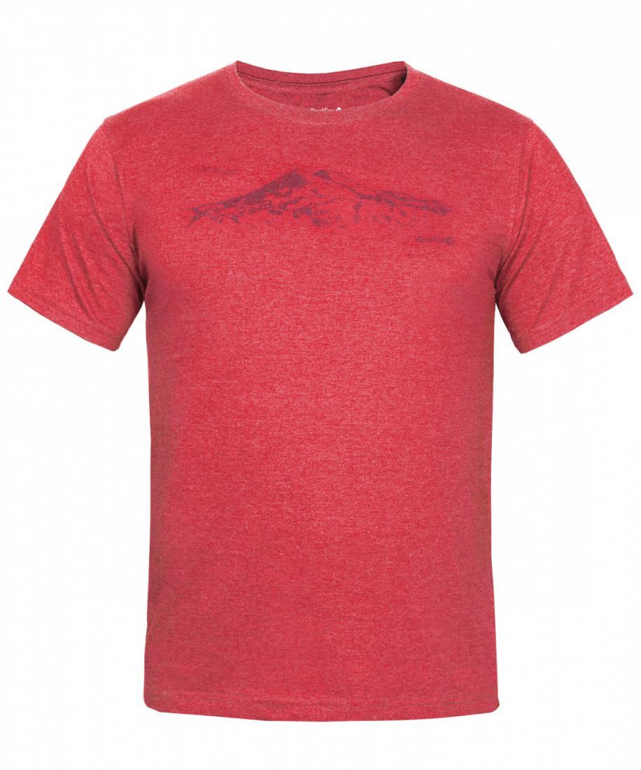 Футболка Mountain T SS МужскаяФутболки, поло<br>Характеристики футболки Mountain T SS<br><br><br><br>Основное назначение: путешествия, повседневное городское использование<br>Посадка: Regular Fit<br>Материал: 60% Cotton 40% Polyester, 120 g/sqm<br>Размерный ряд:...<br><br>Цвет: Темно-серый<br>Размер: S