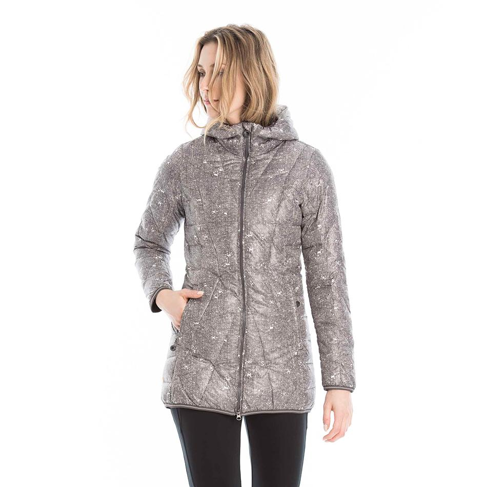 Куртка LUW0311 GISELE JACKETКуртки<br>Тонкая стеганая куртка из ветрозащитной, водостойкой суперлегкой тканиидеально подходит дляпутешествий.<br><br>Особенности:<br><br>Стеганый<br>Центральная молния<br>Воротник можно убрать вкапюшон<br>Трико...<br><br>Цвет: Черный<br>Размер: S