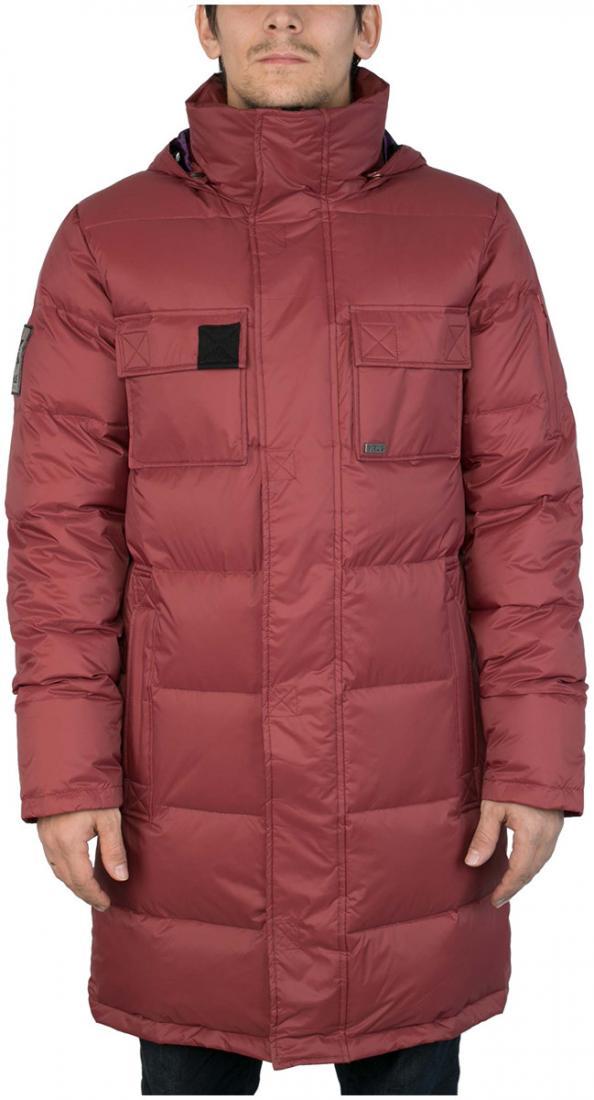 Куртка пуховая EnvelopeКуртки<br><br> Самый длинный мужской пуховик в коллекции ViRUS. Классическая прострочка, два накладных кармана на груди и масса комфорта. Все это о пухов...<br><br>Цвет: Бордовый<br>Размер: 56