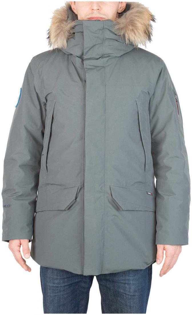 Куртка пуховая Kodiak II GTX МужскаяКуртки<br> Обращаем Ваше внимание, ввиду значительного увеличения спроса на данную модель, перед оплатой заказа, пожалуйста, дожд...<br><br>Цвет: Темно-серый<br>Размер: 46