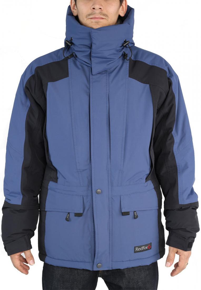 Куртка утепленная Snow Man МужскаяКуртки<br><br>Универсальная мужская утеплённая куртка создана специально для условий Крайнего Севера. Плотная внешняя мембранная ткань создает идеа...<br><br>Цвет: Темно-синий<br>Размер: 54