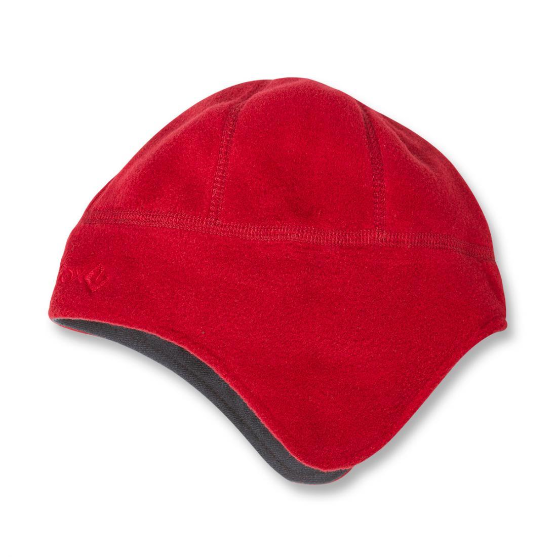 Шапка FiordШапки<br><br> Теплая непродуваемая шапка из материала Polartec®Windbloc®.<br><br><br> Основные характеристики<br><br><br>облегающий анатомический крой<br>особенный дизайн для дополнительной защиты ушей<br><br> Особенности<br><br>&lt;...<br><br>Цвет: Красный<br>Размер: 56