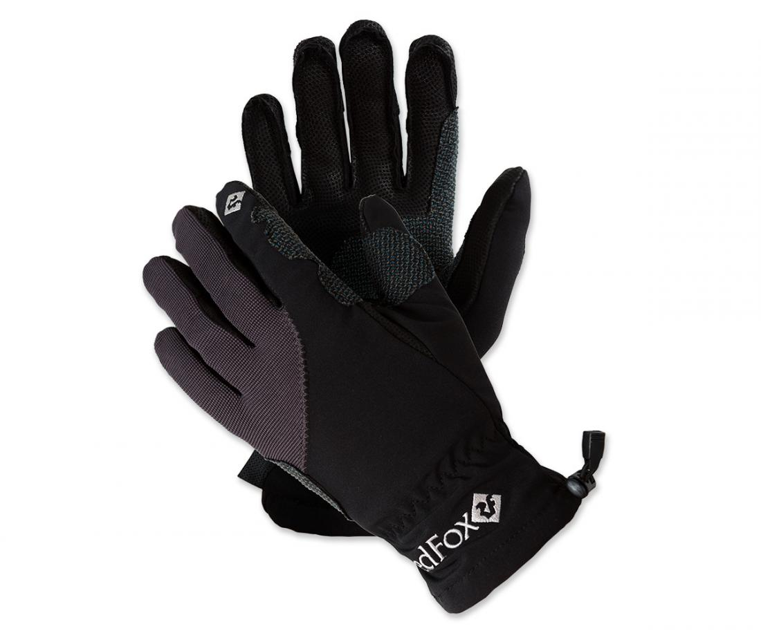 Red Fox Перчатки Softshell Technogloves Серый