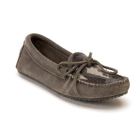 Мокасины Wool Canoe Suede женскМокасины<br><br> На языке аборигенов слово мокасины означает ботинок или башмачок. Наши предки первоначально разработан скрыть эти мокасины носить н...<br><br>Цвет: Серый<br>Размер: 6