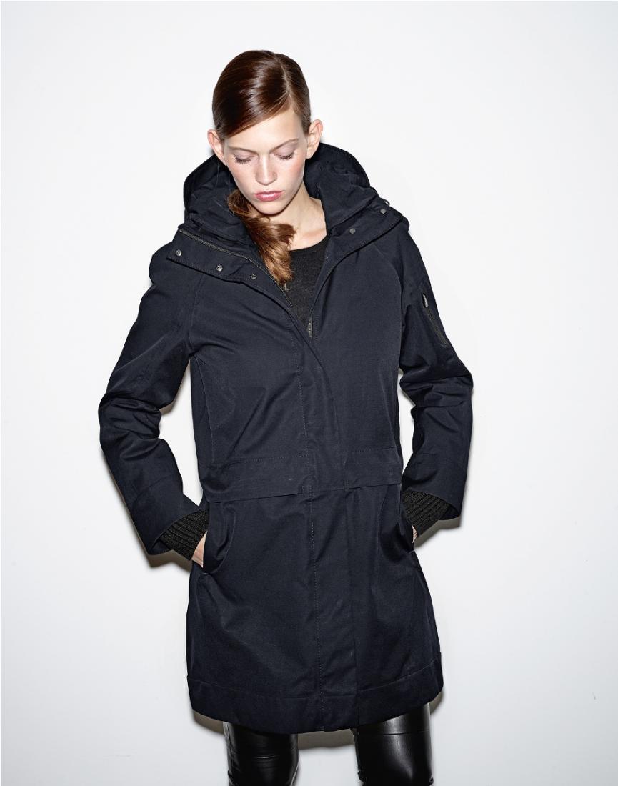 Куртка утепленная жен.TyraКуртки<br>Куртка Tyra — это трансформация из чистого, строгого дизайна, сдержанных линий в настоящий стиль и эксклюзивность. Лаконичный дизайн, наполненный многофункциональными деталями,  обеспечит вам комфорт, что бы вы не делали!<br>Материалы:<br><br>...<br><br>Цвет: Темно-синий<br>Размер: XL