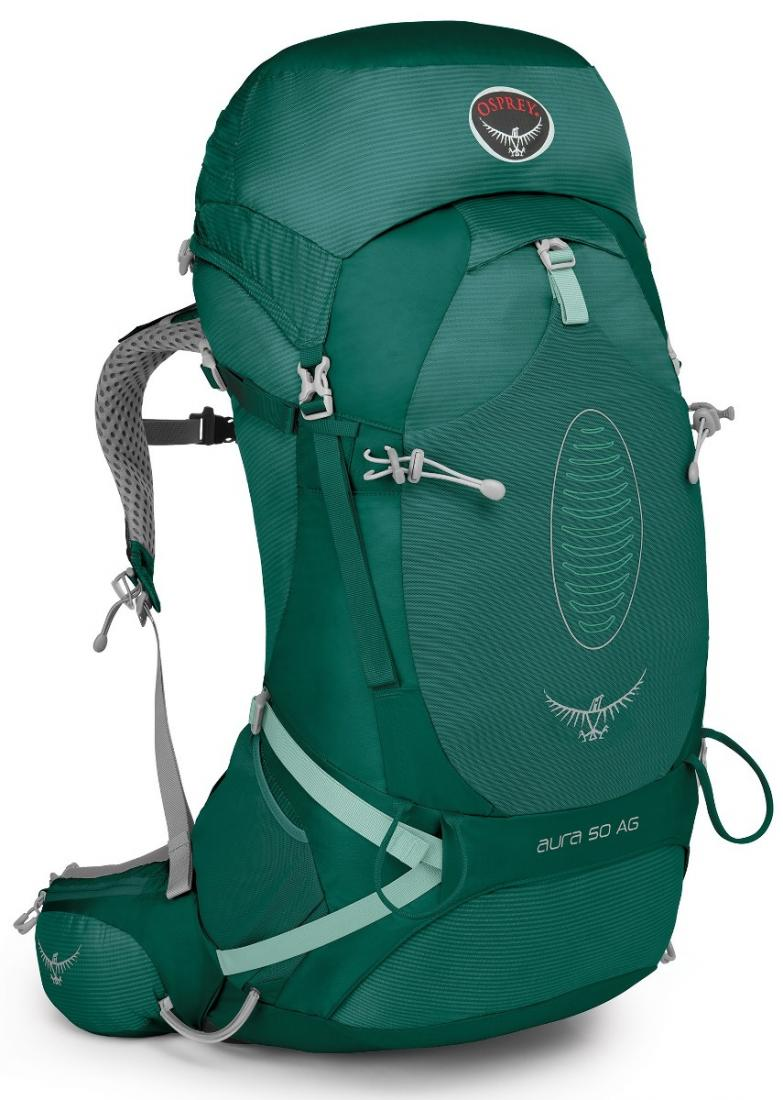 Osprey Рюкзак Aura AG 50 Women's (S, Rainforest Green, ,) osprey рюкзак raven 14 clover green