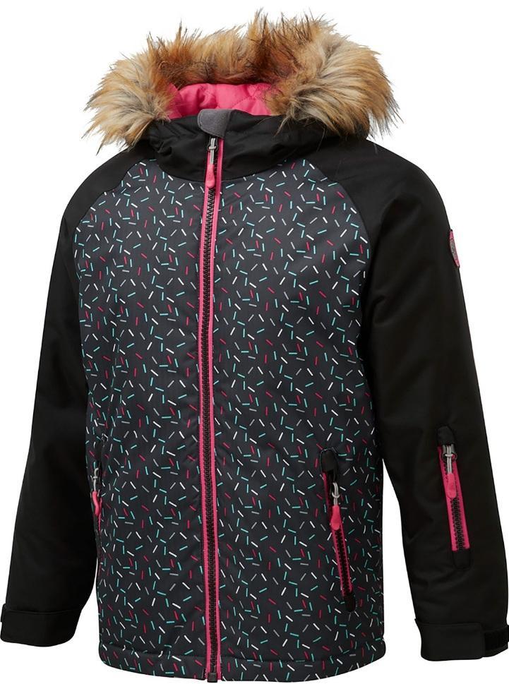 Куртка COSMO 8K/8K утепл. д/дев.Куртки<br>Куртка Cosmo  для девочек изготовлена из высококачественных водонепроницаемых и дышащих материалов. Такие особенности как: снегозащитные манжеты и снегозащитная юбка защищают от попадания снега под куртку. Регулируемый капюшон легко надевается на шлем...<br><br>Цвет: Белый<br>Размер: 140