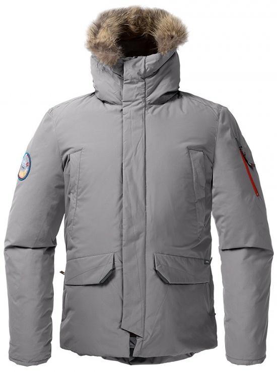 Куртка пуховая ForesterКуртки<br><br> Пуховая куртка, рассчитанная на использование вусловиях очень низких температур. Обладает всемихарактеристиками, необходимыми для защиты от экстремального холода. Максимальные теплоизолирующиепоказатели достигаются за счет особенного расположени...<br><br>Цвет: Темно-серый<br>Размер: 58