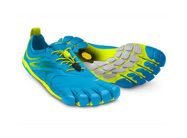 Мокасины FIVEFINGERS Bikila EVO 2 MМокасины<br>Средние дистанции в минималистичной обуви могут стать настоящим испытанием для новичков. Должно пройти время, прежде чем вы привыкните...<br><br>Цвет: Голубой<br>Размер: 45