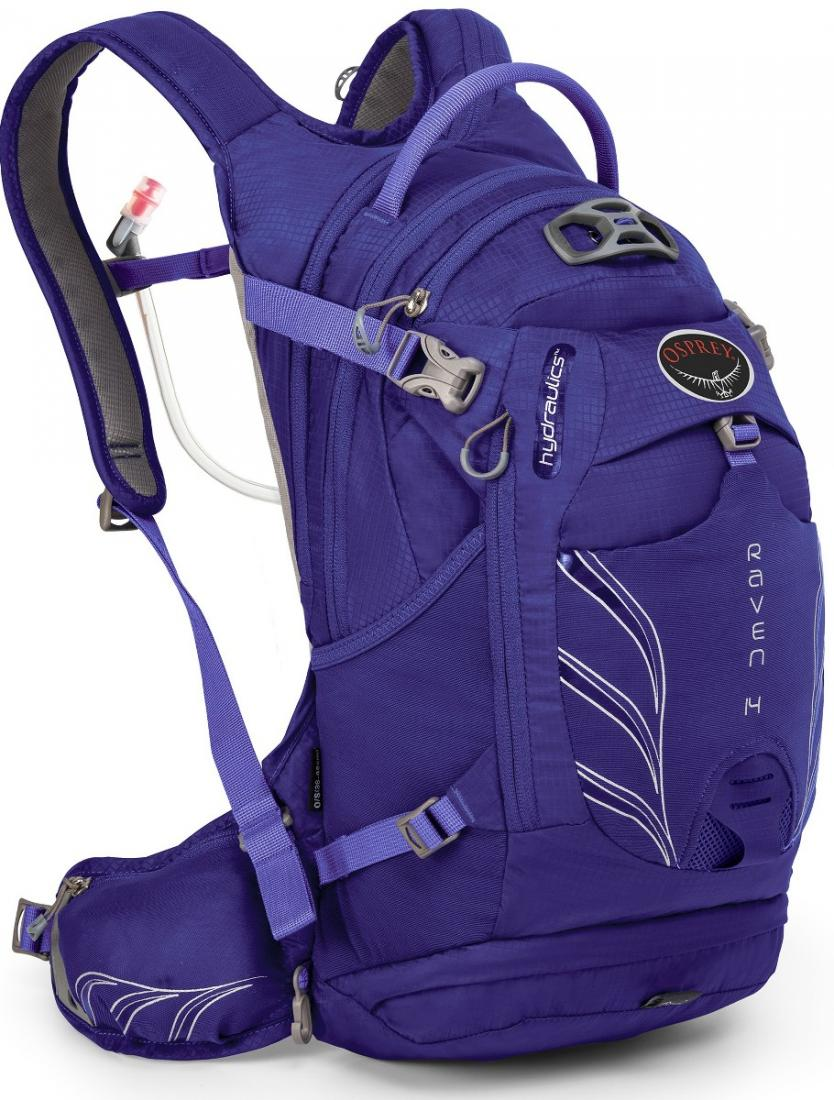 Osprey Рюкзак Raven 14 (, Royal Purple, , ,) osprey рюкзак raven 14 clover green