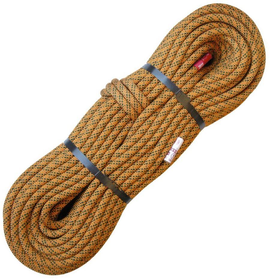 Веревка FINGERВеревки, стропы, репшнуры<br>Динамическая веревка диаметром 10,2 мм - идеально сочетает в себе легкость и надежность во время страховки. Прекрасно подойдет для людей, кот...<br><br>Цвет: Коричневый<br>Размер: 60
