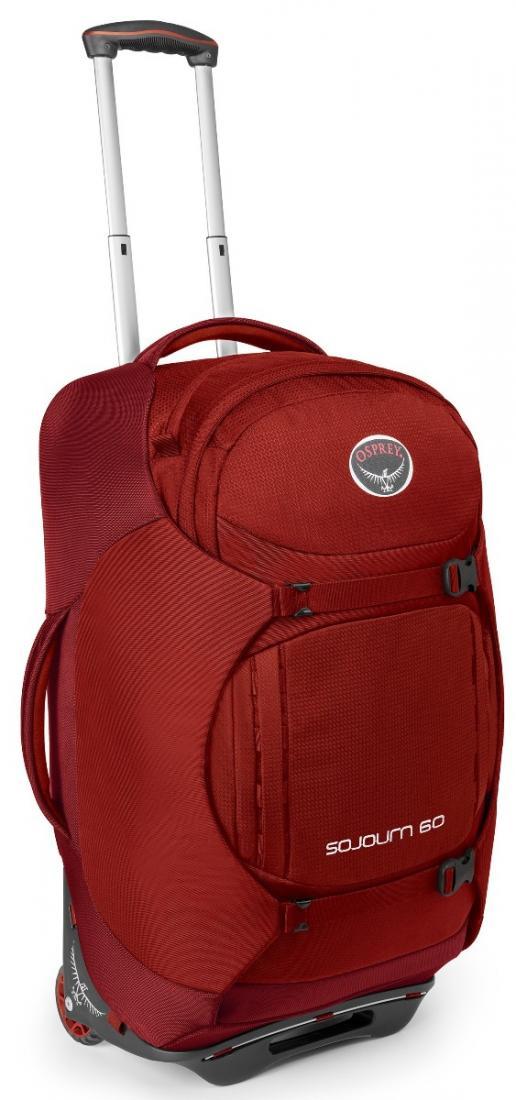 Сумка-рюкзак на колёсах SoJourn 60Сумки<br><br><br>Цвет: Черный<br>Размер: 60 л