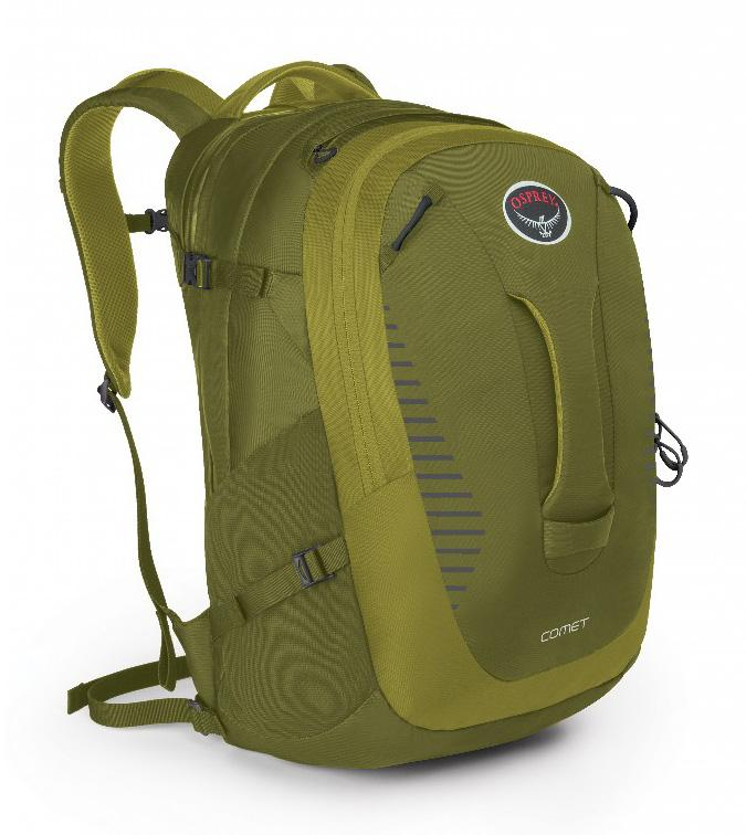Рюкзак Comet 30Рюкзаки<br><br>Городской рюкзак, воплотивший в своем дизайне традиции outdoor и многолетний опыт конструирования рюкзаков Osprey. Прочный, качественный и функциональный, с удобной внутренней организацией, он создает непревзойденный комфорт при переноске. Легкодосту...<br><br>Цвет: Зеленый<br>Размер: 30 л