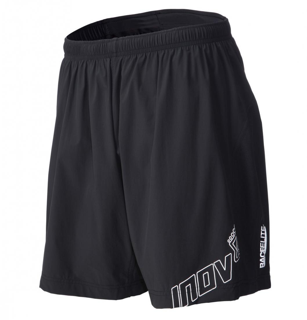 Inov-8 Шорты AT/C 8 (210 trail short) M (S, Black, ,) inov 8 футболка at c tri blend ss strip w 6 black pink