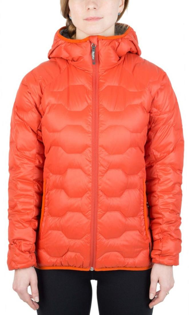 Куртка пуховая Belite III ЖенскаяКуртки<br><br> Легкая пуховая куртка с элементами спортивного дизайна. Соотношение малого веса и высоких тепловых свойств позволяет двигаться активно в течении всего дня. Может быть надета как на тонкий нижний слой, так и на объемное изделие второго слоя.<br><br>...<br><br>Цвет: Оранжевый<br>Размер: 48