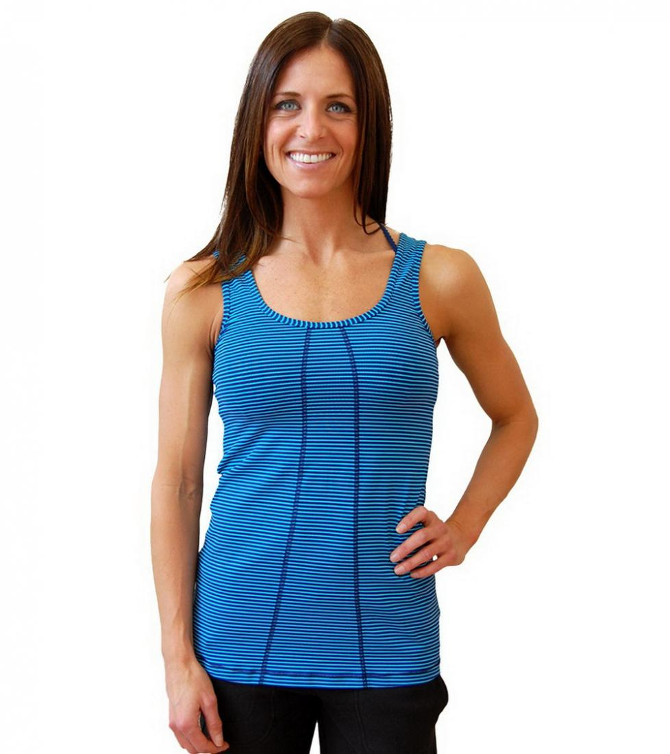 Lole Топ LSW1051 FANCY TANK (M, SOLIDATE BLUE STRIPE, ,) lole капри lsw1349 lively capris xl blue corn