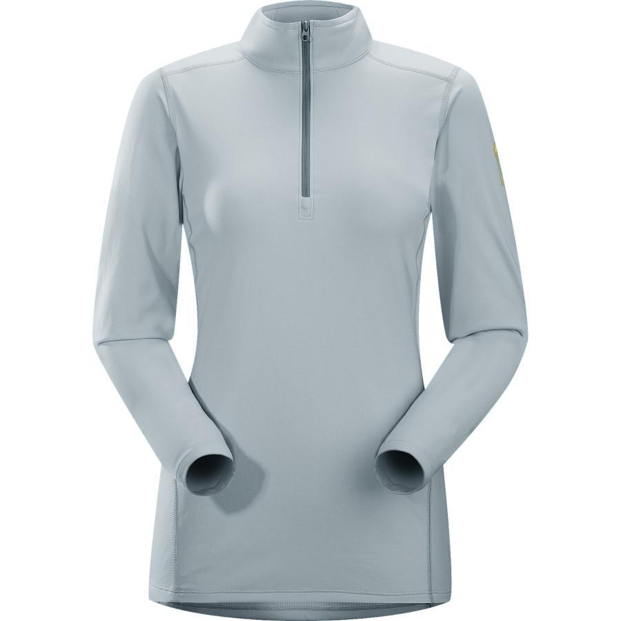 Arcteryx Термобелье футболка Phase AR Zip Neck жен. длин.рукав