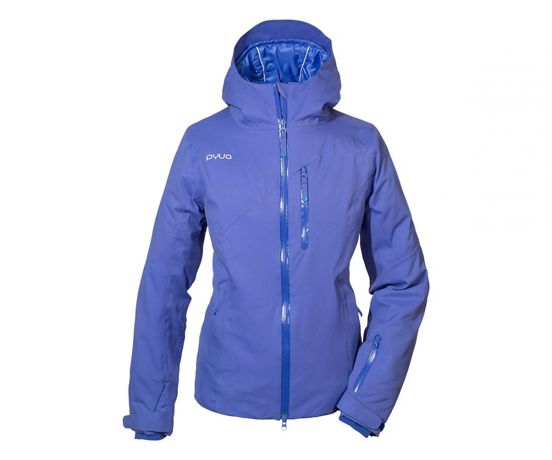 Куртка Crux жен.Куртки<br>Женская куртка Pyua Crux создана дарить тепло. В ней покорительницам зимних склонов не страшны суровые морозы и сильный ветер. Она отлично садится по фигуре и подчеркивает вашу индивидуальность.<br>Особенности:<br><br>Двухслойная вн...<br><br>Цвет: Голубой<br>Размер: XS