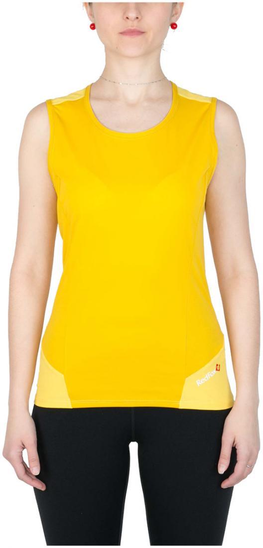 Майка Amplitude ЖенскаяФутболки, поло<br><br><br>Цвет: Желтый<br>Размер: 44