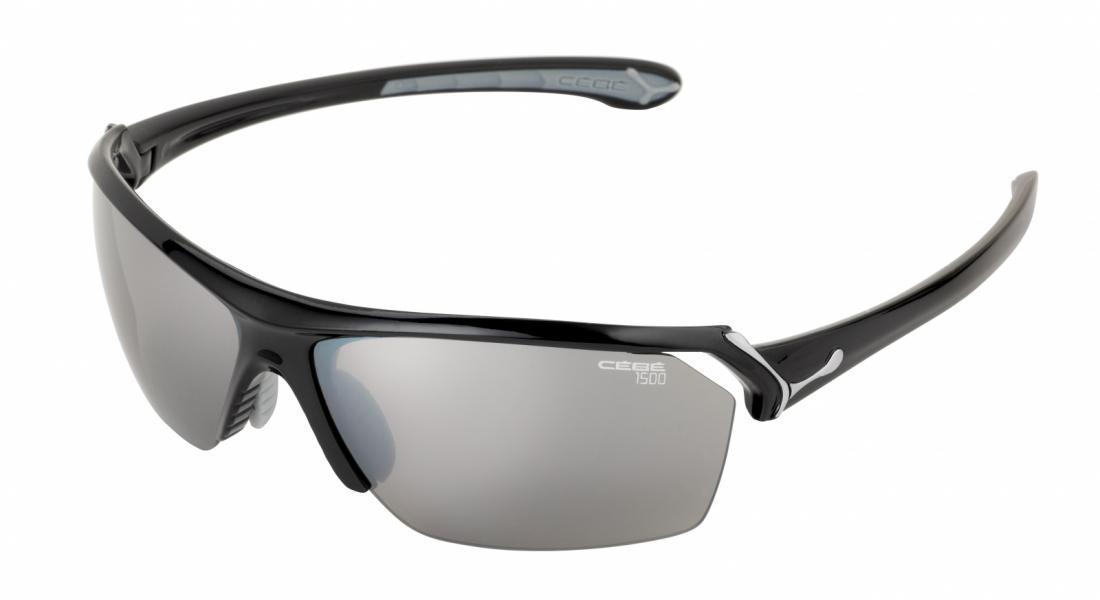 Очки Cebe  WILDОчки<br>Мультиспортивные очки<br><br><br>  <br><br><br>Особенности:<br><br><br>  <br>    В комплекте три линзы (прозрачные, желтые, нейтрально сер...<br><br>Цвет: Темно-серый<br>Размер: Small