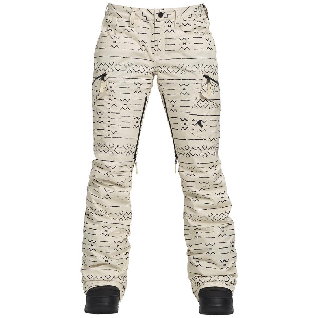 БРЮКИ Ж Г/Л W GLORIA INS PTБрюки, штаны<br><br> Женские брюки Burton Gloria Insulated Pant зауженного кроя от известного американского бренда Burton идеально подойдут для катания по горным склонам. Двухслойная дышащая водонепроницаемая мембрана DRYRIDE™, полностью проклеенные швы и теплая подкла...