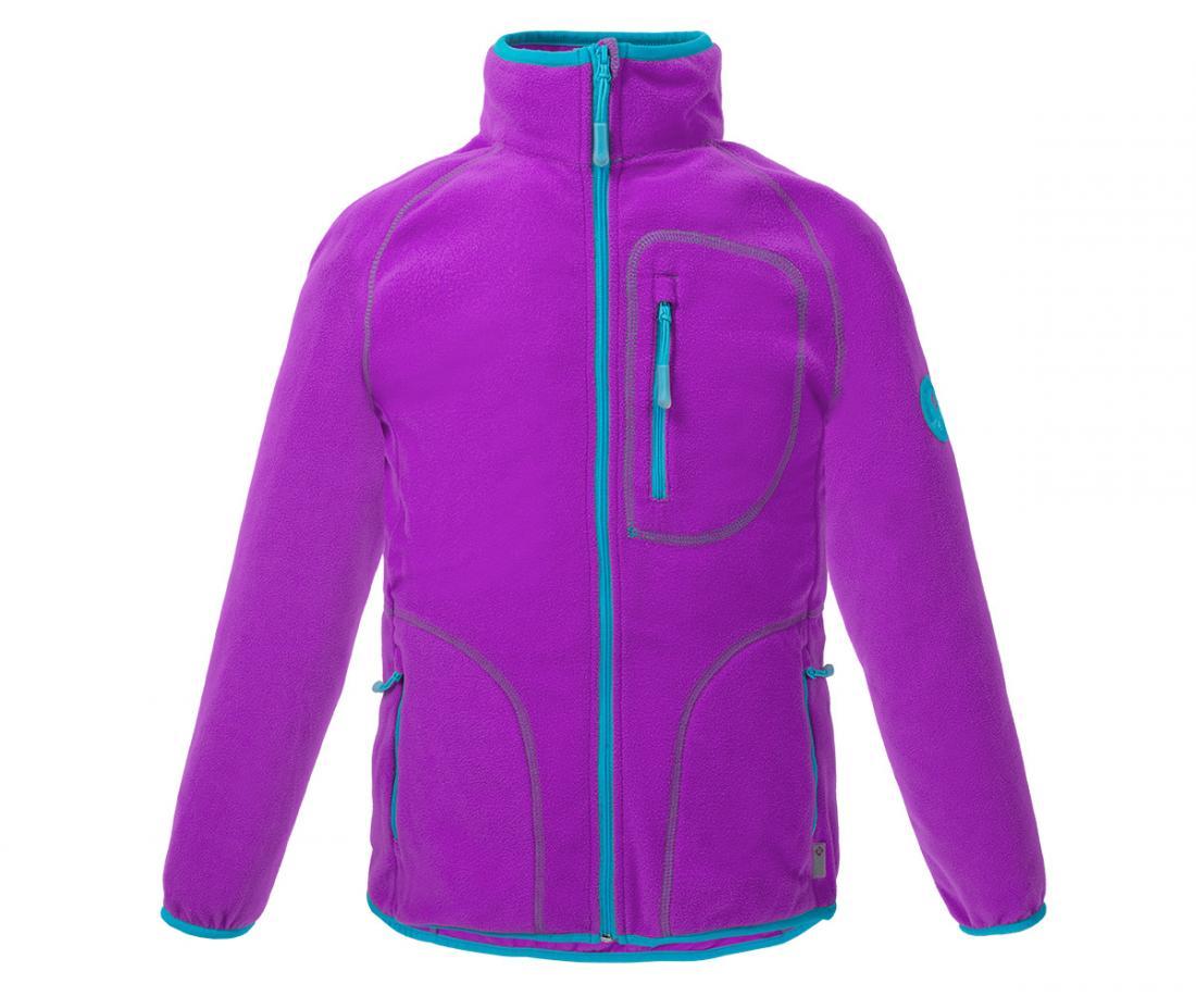 Куртка Hunny ДетскаяКуртки<br>Классическая куртка из флиса. Теплый уютный флис согреет вашего ребенка в прохладную погоду и станет превосходным дополнительным утеплением в морозное время года.<br> <br><br>Материал – Polar Fleece.<br>Защита для подбородка.<br>&lt;li...<br><br>Цвет: Лавандовый<br>Размер: 140