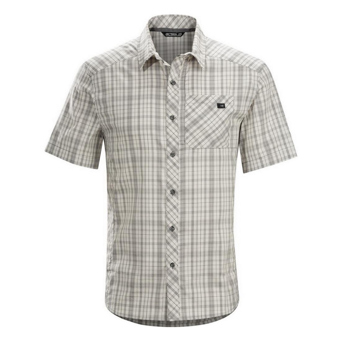 Рубашка Peakline Shirt SS муж.Рубашки<br><br><br>Цвет: Серый<br>Размер: L