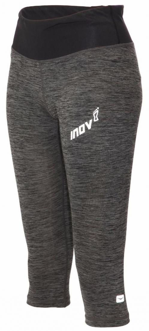 Inov-8 Брюки AT/C Capri W (12, DARK GREY, , ,) inov 8 футболка at c tri blend ss strip w 10 black pink