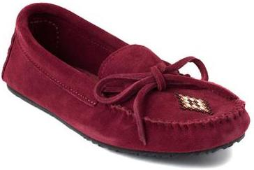 фото Мокасины Canoe Suede Moccasin Unlined женск