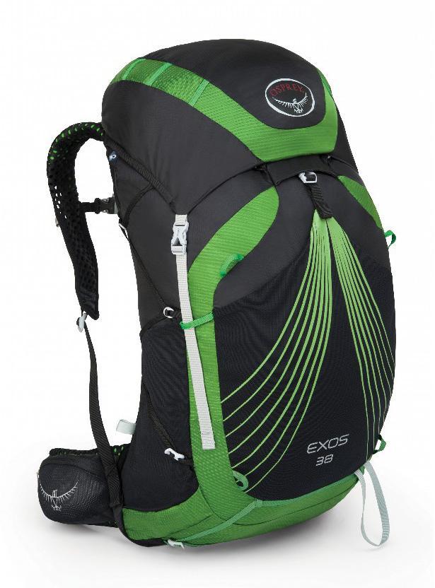 Рюкзак Exos 38Туристические, треккинговые<br><br><br>Цвет: Черный<br>Размер: 36 л
