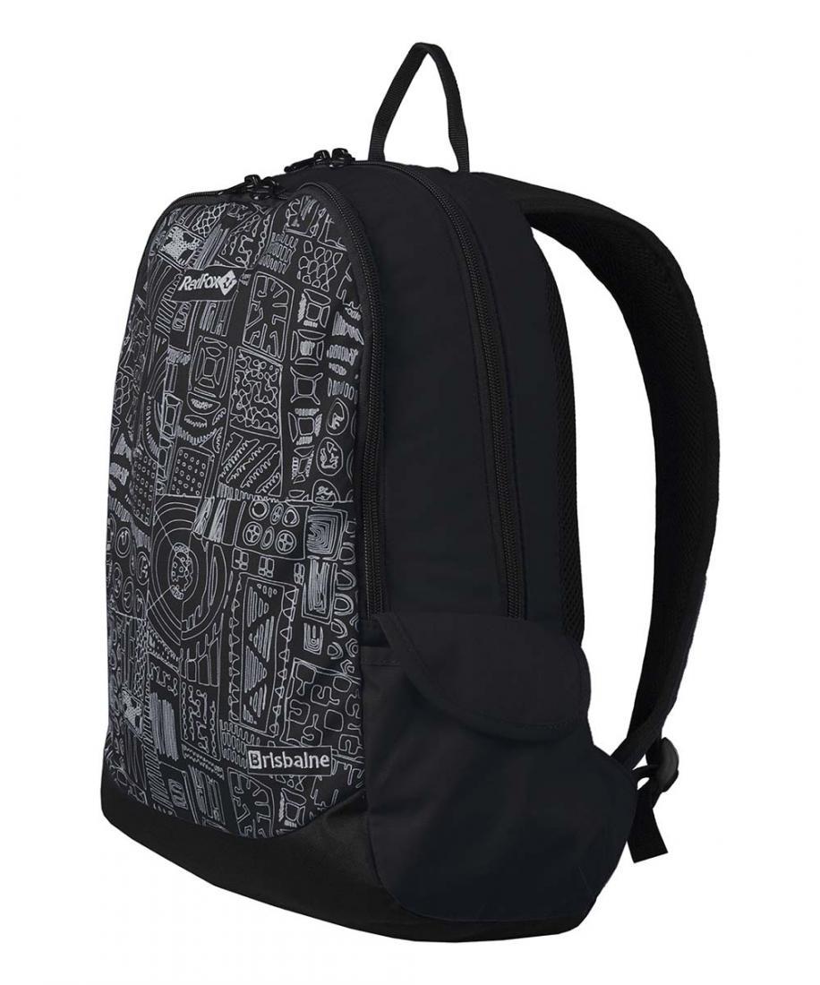 Рюкзак BrisbaneРюкзаки<br><br><br> Рюкзак Brisbane – небольшой городской рюкзак<br><br>Подвесная система Active<br>Смягчающая вставка в дно рюкзака<br>Два боковых об...<br><br>Цвет: Черный<br>Размер: 20 л