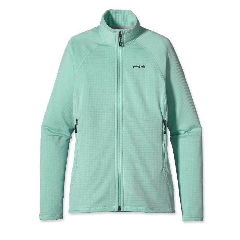 Куртка 40137 WS R1 FULL-ZIP JKTКуртки<br><br> Флисовый жакет Patagonia R1 Full-Zip создан для женщин, которые предпочитают зимние виды спорта и активный отдых. Модель дарит тепло и комфорт, и ...<br><br>Цвет: Голубой<br>Размер: XS