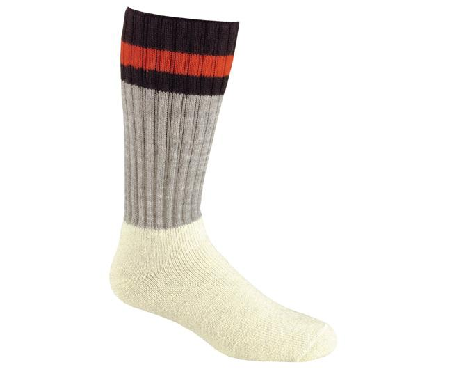 Носки охота-рыбалка 7267 OUTDOORSOXНоски<br><br> Скажите «нет» мокрым носкам. Натуральная шерсть может впитывать влагу до 30% собственного веса. Эти гольфы сохранят Ваши ноги в тепле при особо низких температурах.<br><br><br>Специальное эластичное рифленое голенище не стягивает голень и об...<br><br>Цвет: Белый<br>Размер: L