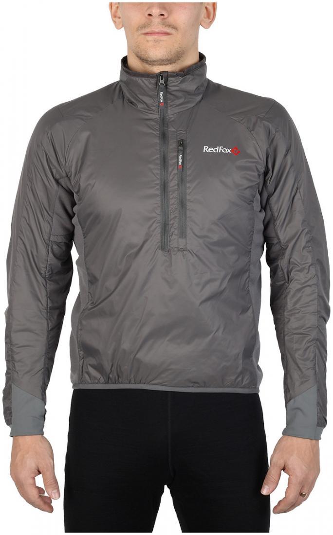 Пуловер утепленный Alpha ZipПуловеры<br><br><br>Цвет: Темно-серый<br>Размер: 56