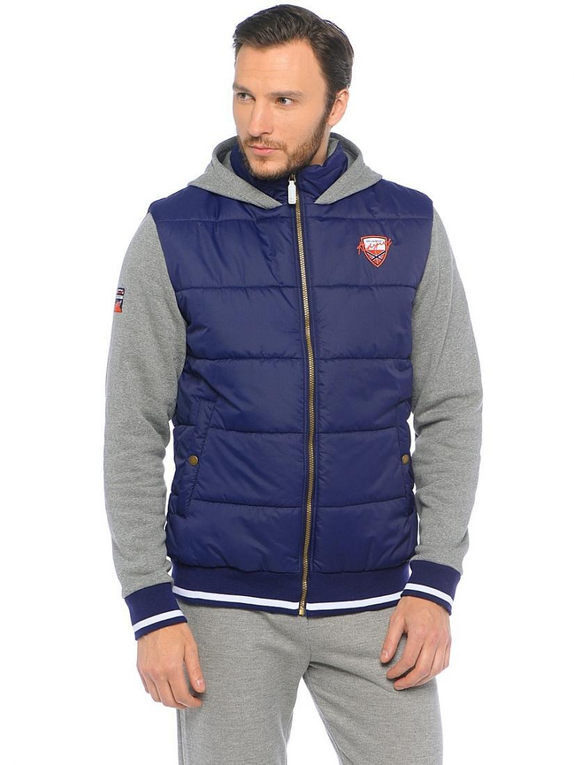 Куртка 16-42406 муж.Куртки<br><br><br>Цвет: Темно-синий<br>Размер: 48