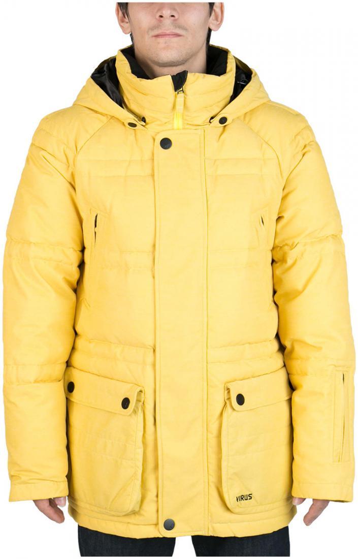 Куртка пуховая PlusКуртки<br><br> Пуховая куртка Plus разработана в лаборатории ViRUS для экстремально низких температур. Комфорт, малый вес и полная свобода движения – вот залог успеха этого пуховика. Лаконичная отделка куртки, вместительные карманы на кнопках не отвлекают от глав...<br><br>Цвет: Желтый<br>Размер: 46